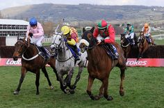 Cheltenham Day 3: Benefficient (right)wins at the Cheltenham Racing festival 2013