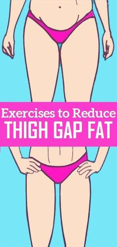 Simple Exercises to Reduce Thigh Gap Fat..