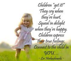 Find & nurture your inner child