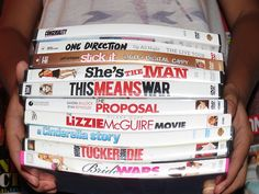 lets watch some girly movies {{i desperately need a sister}}