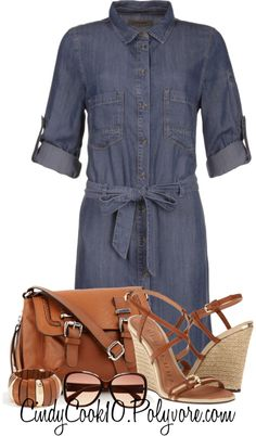 """""""DENIM DELIGHT CONTEST"""" by cindycook10 on Polyvore"""