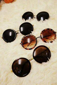 6940f9a8322 Óculos Vintage Round Looks
