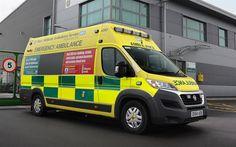 Herunterladen hintergrundbild krankenwagen, fiat ducato, 2017, vereinigtes königreich, neue minivans, fiat, spezielle dienstleistungen