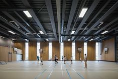 Image 9 of 26 from gallery of Augustinianum / architecten Grammar School, School Sports, Eindhoven, School Architecture, Social Science, Ancient Greece, Basketball Court, Indoor, Studio