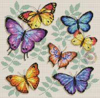 "Gallery.ru / haharina20 - Альбом ""-"" Small Cross Stitch, Butterfly Cross Stitch, Cross Stitch Bird, Cross Stitch Animals, Cross Stitch Flowers, Cross Stitch Charts, Cross Stitching, Cross Stitch Embroidery, Cross Stitch Alphabet Patterns"