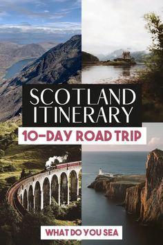 Scotland Hiking, Scotland Road Trip, Scotland Travel, Ireland Travel, Travel Route, Europe Travel Guide, Spain Travel, European Destination, European Travel
