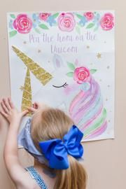 This adorable UNICORN party game printable is perfect for your child's unicor. Diy Unicorn Birthday Party, Fourth Birthday, Rainbow Birthday, Unicorn Birthday Parties, First Birthday Parties, Birthday Party Decorations, Birthday Celebration, Birthday Party At Home, Birthday Table