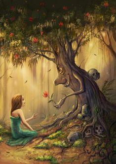 As oníricas ilustrações de fantasia com um toque surreal de Jeremiah Morelli