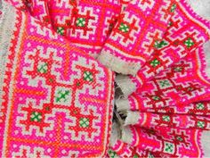 Hmong Hill Tribe fabric