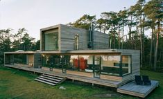 Container House - Škandinávske domy – fotogaléria – Inšpirácie montované domy Who Else Wants Simple Step-By-Step Plans To Design And Build A Container Home From Scratch?