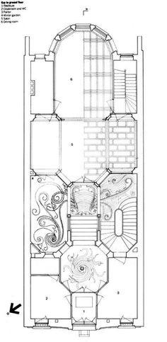 Hotel Tassel - Victor Horta. 1893-1894