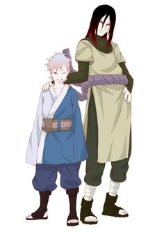 Mitsuki is Orochimaru's son...????? Then who's the mother..???