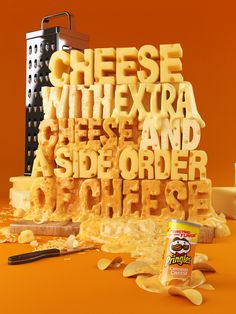 Cheese is yellow, the poster is yellow, enough said #colourtheory