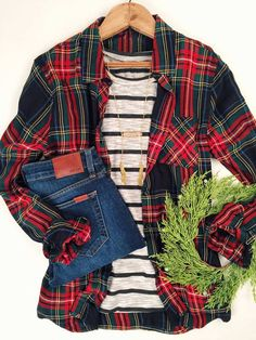 Love the entire outfit - minus the wreath stitch fix платья, Passion For Fashion, Love Fashion, Fashion Outfits, Womens Fashion, Girl Fashion, Fall Winter Outfits, Autumn Winter Fashion, Winter Style, Outfits Con Camisa