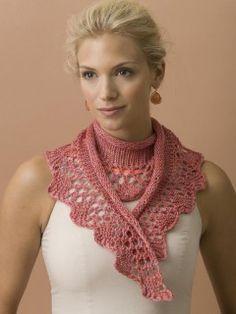 Rose Garden Scarf in Empress | InterweaveStore.com