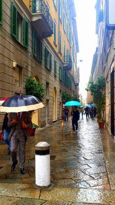 Via della Spiga, Milano, Italy
