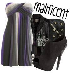 """malificent"" by swimmergirl1313 on Polyvore"