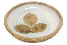 Leaf Pottery Plate on OneKingsLane.com