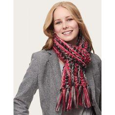 Free Easy Women's Scarf Crochet Pattern