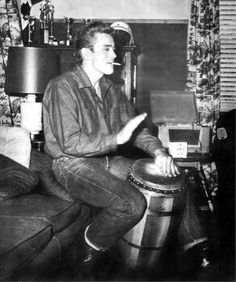 James Dean drumming