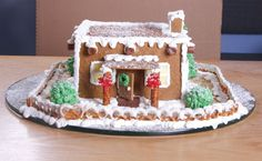 Adobe Gingerbread House