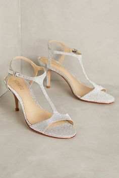 Schutz Starlight T-Straps #anthropologie