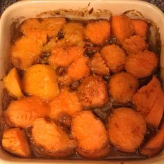 Really Really Good Candied Sweet Potatoes Recipe - Genius Kitchen Yam Or Sweet Potato, Sweet Potato Recipes, Veggie Recipes, Cooking Recipes, Drink Recipes, Thanksgiving Side Dishes, Thanksgiving Recipes, Turkey And Potato Recipe, Paleo Vegetables