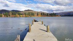 Lovely Lake Dunstan New Zealand