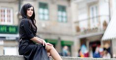 stunning long casual black dress | It Girl Ailén