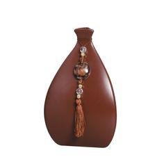 Vaso Real Pequeno em Cerâmica. Este vaso dará ao ambiente charme e muita delicadeza.