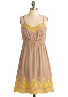Maize-y Days of Summer Dress