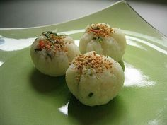 DIY rice balls