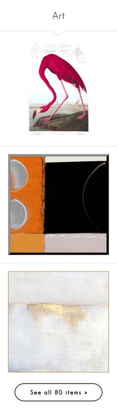 """Art"" by erica-tais ❤ liked on Polyvore featuring home, home decor, wall art, bird home decor, bird wall art, painted wall art, orange, geometric wall art, orange wall art and geometric home decor"