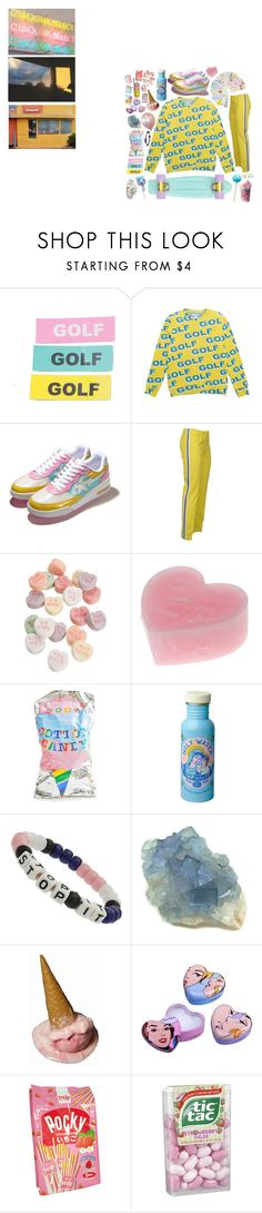 """""""the heat of the summer"""" by cia-lu ❤ liked on Polyvore featuring Golf Wang, A BATHING APE, P.A.R.O.S.H., Dylan's Candy Bar, Miss Selfridge, POP and Pupa"""