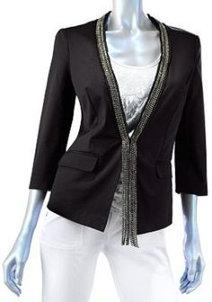 rocker chic blazer