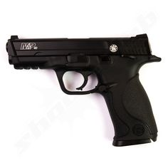 Smith and Wesson M&P40 TS Blowback CO2 Pistole - 4,5mm Stahl BBs    - Vollmetall -
