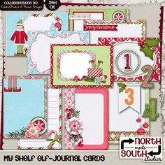 scrapbooking the elf on the shelf | My Shelf Elf Digital Scrapbooking Collab Add-On - Are you counting ...