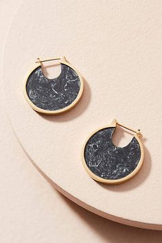 Studio Elke Petite Eclipse Hoop Earrings