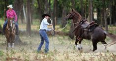 Out-of-Control Trail Horse | Horse&Rider | Western Training - How-To - Advice