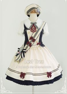 Popular Category Recommendation: LolitaWardrobe 【Sailor Themed Lolita Outfits】 Collection