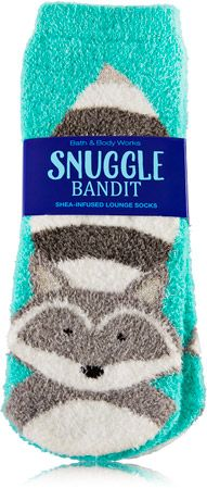 Shea infused fuzzy socks with gel(?) no slip bumps! I already have the owl pair at bath and body. Cute Socks, My Socks, Awesome Socks, Body Sock, Fluffy Socks, Bath And Bodyworks, Thigh High Socks, Crazy Socks, Kids Socks