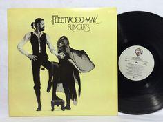 Fleetwood Mac - Rumours LP BSK 3010 White Label Vinyl Record w/ insert poster