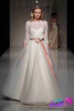 احدث فساتين زفاف للمصمم ستيفاني الين