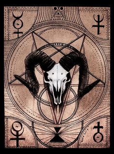 Are you willing to sell yourself to me? Occult Tattoo, Occult Art, Baphomet, Satanic Art, Geniale Tattoos, Arte Horror, Halloween Signs, Black Art, Creepy