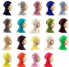 ♡ FULL JERSEY NINJA UNDERSCARF ♡ Hijab Scarf Styling Inner Hat Cap Bonnet Cover in Clothes, Shoes & Accessories, Women's Accessories, Scarves & Shawls   eBay