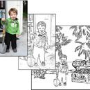 How to Make a Coloring Book for free!  Awesome ideas and really easy to follow instructions