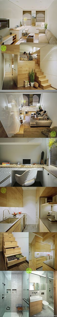 love this minimalist idea... add some bookshelves (for lots of books) and I can move in ...
