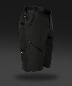 Men's Black Market Shorts with Liner | ZOIC Clothing- Mountain Bike Clothing