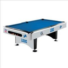#Detroit #Lions Pool Table