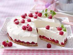 Himbeer-Joghurt-Torte backen - und so geht's - himbeer-joghurt-torte